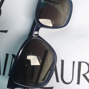 YSL BLUE/GREY UNISEX SUNGLASSES